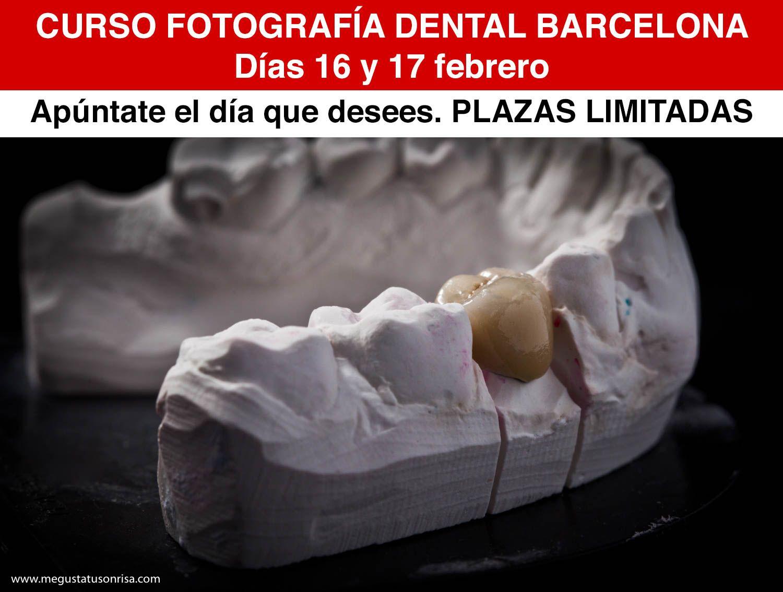 Curso fotografía dental Barcelona